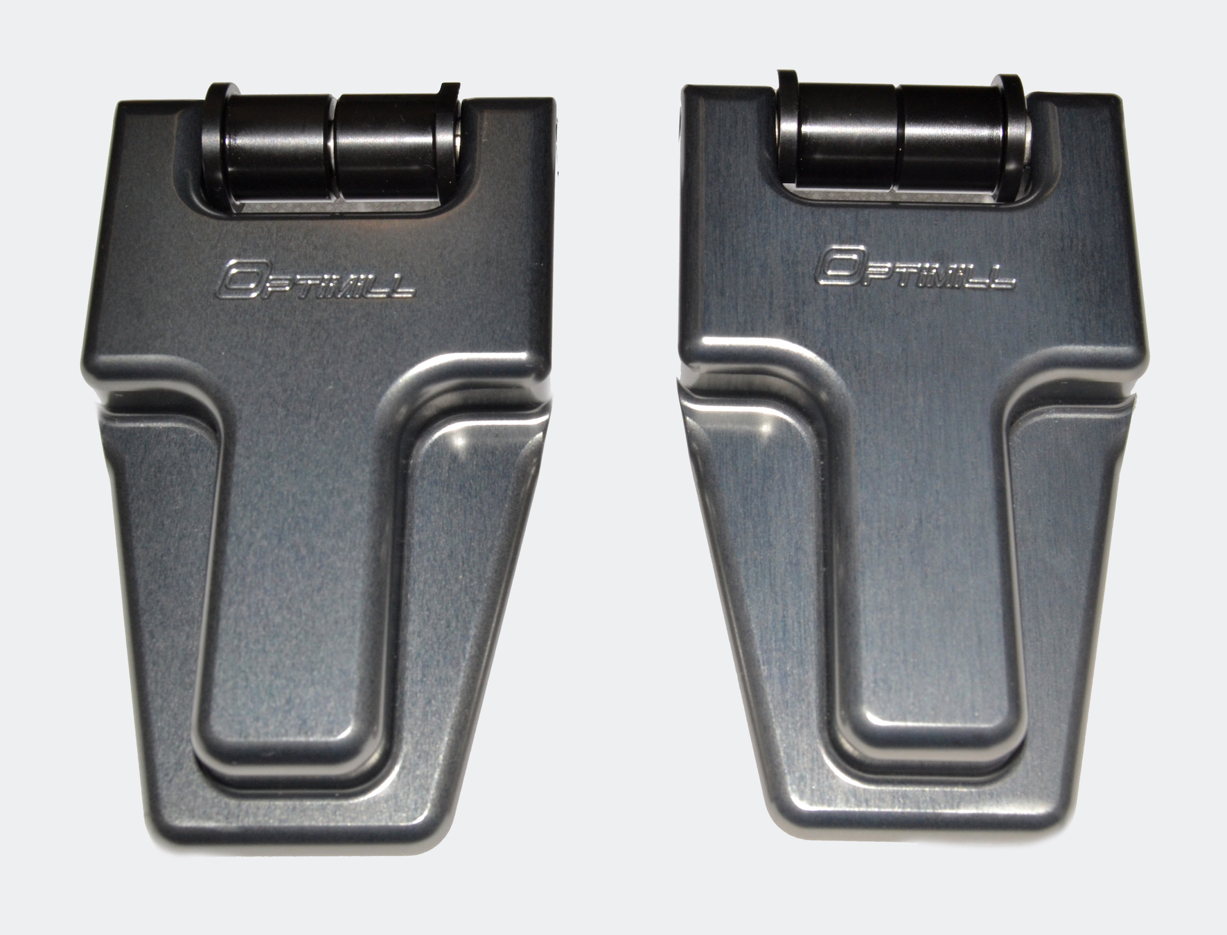 Landrover Defender Bonnet Hinges (pair) New Grey