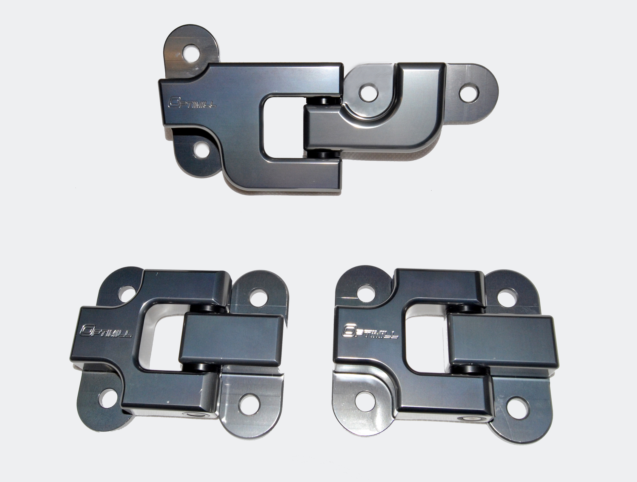 Landrover Defender Rear Door Hinges set of 3 in New Grey