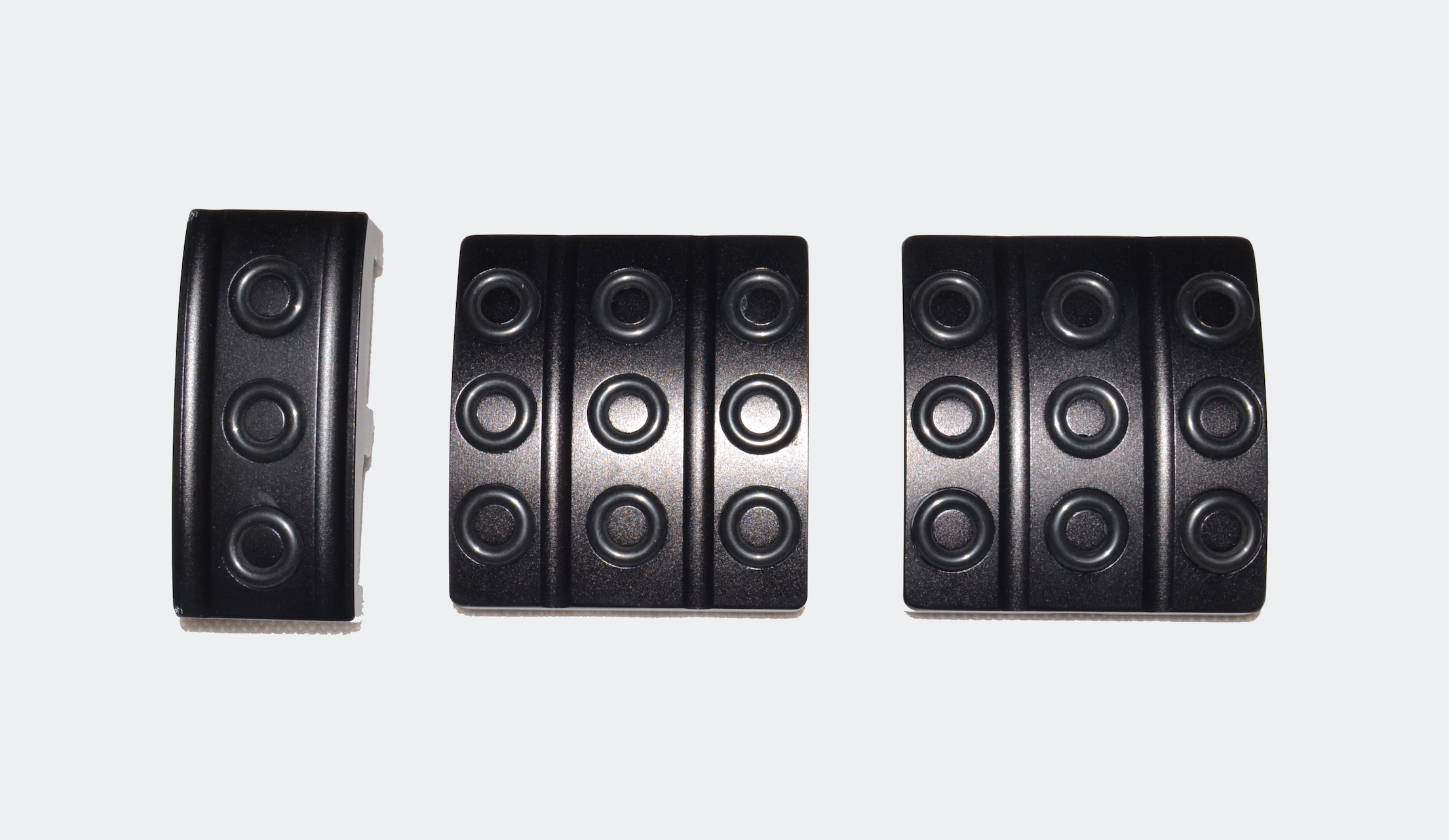 Pedal Covers (set of 3) Black