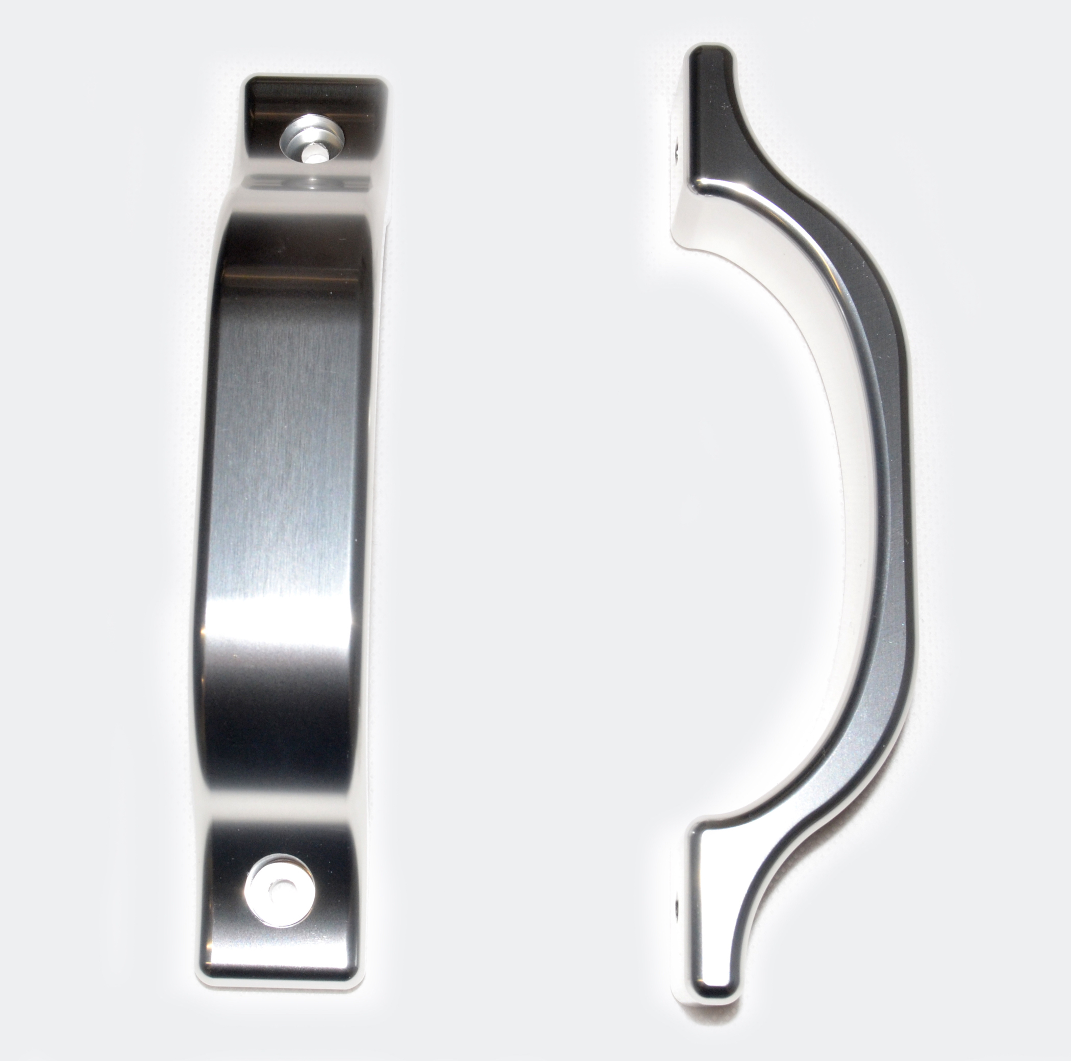 Interior Door Handles (Pair) Silver & Interior Door Handles Optimill Race Products
