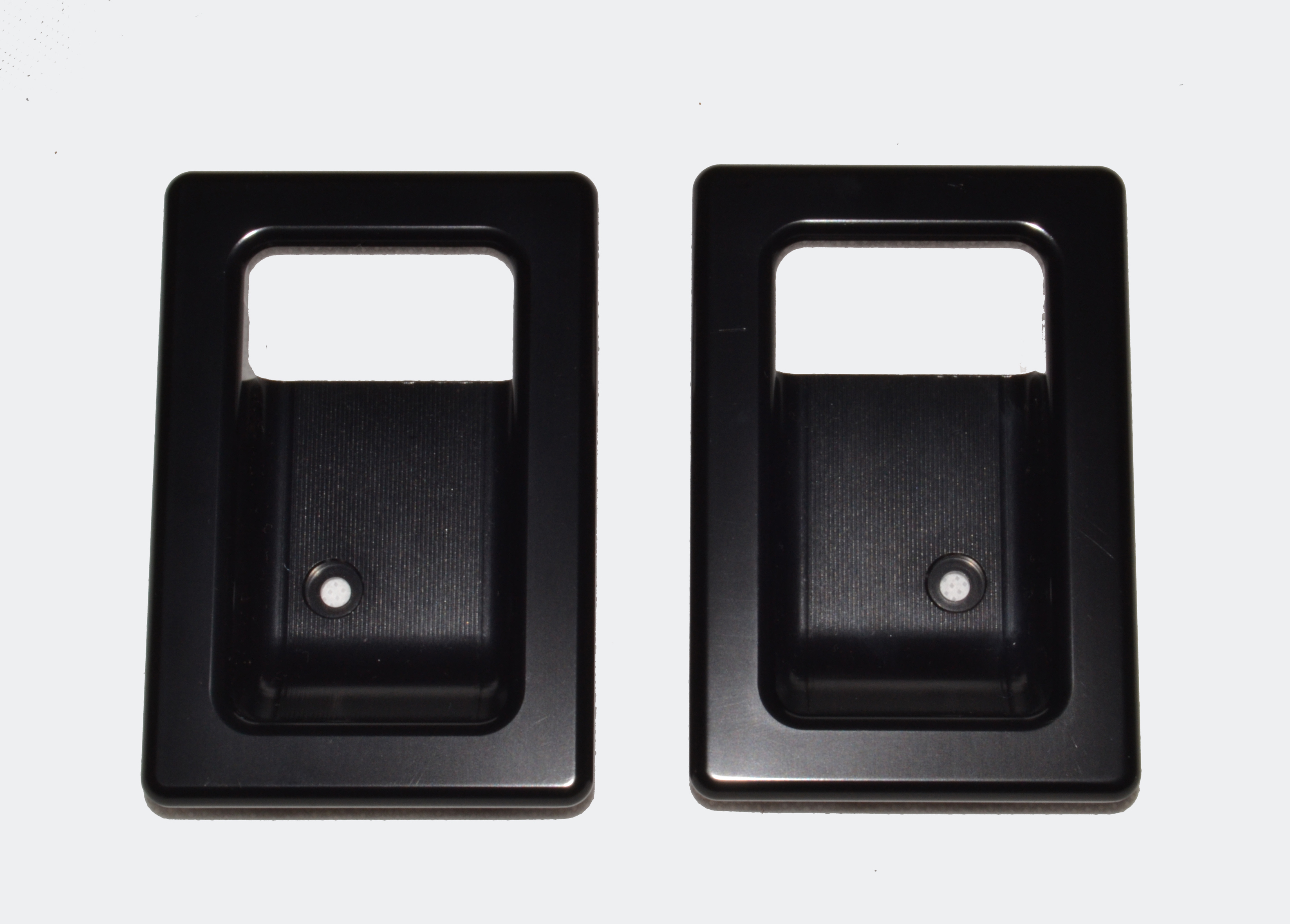 Door Lever Surrounds (pair) Black