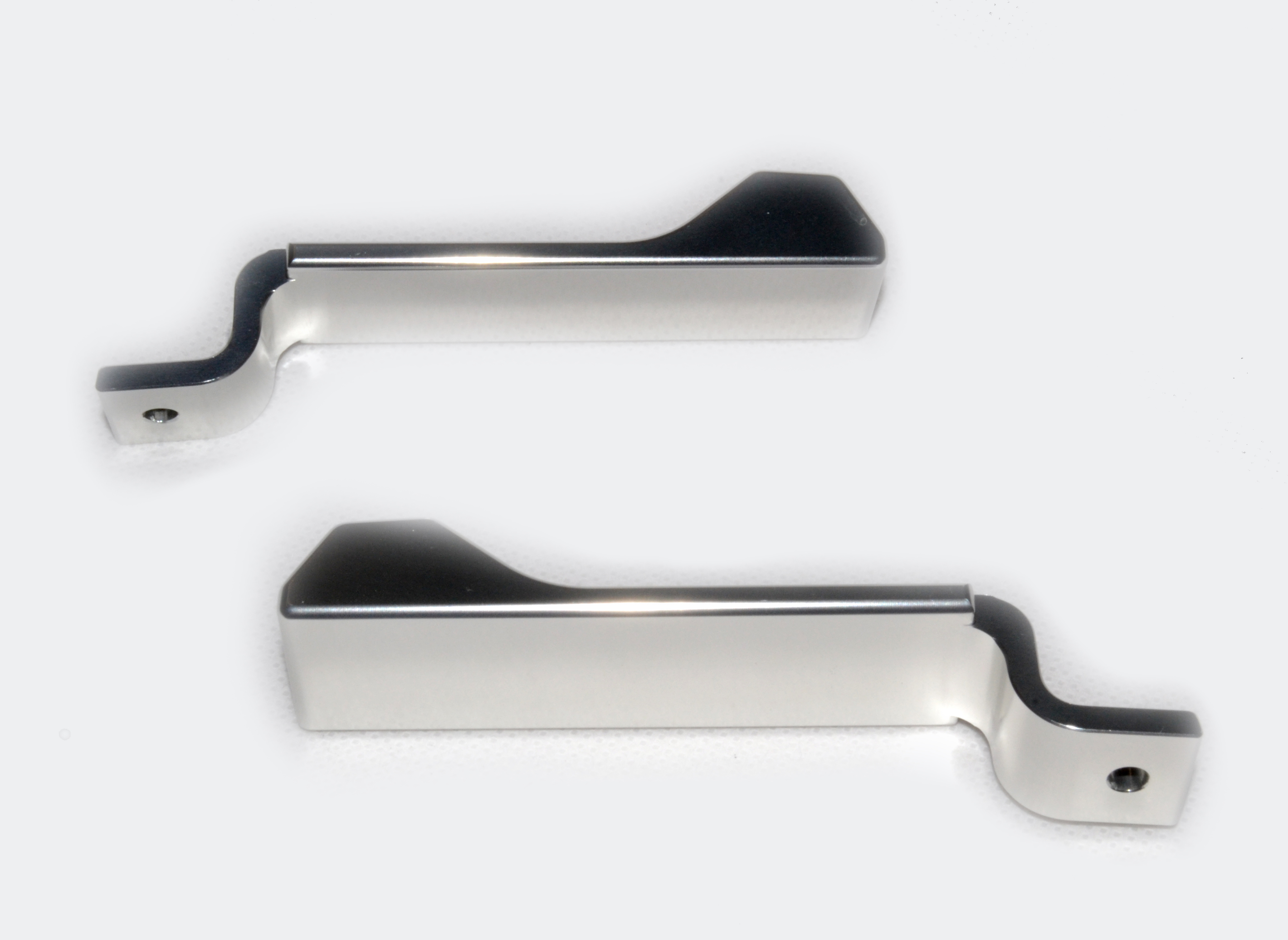 Locking Pegs (pair) Silver