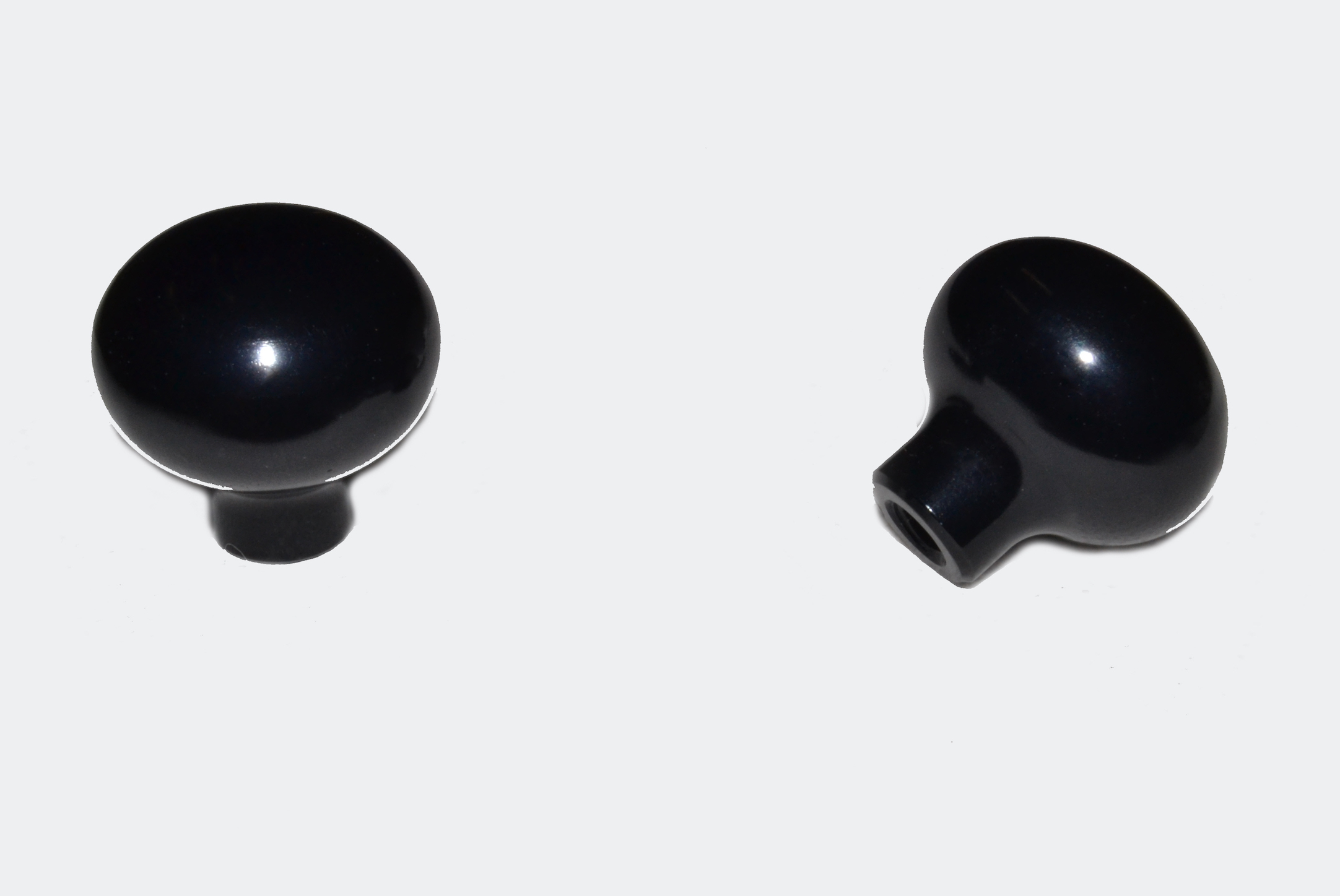 Vent Knobs (pair) Black