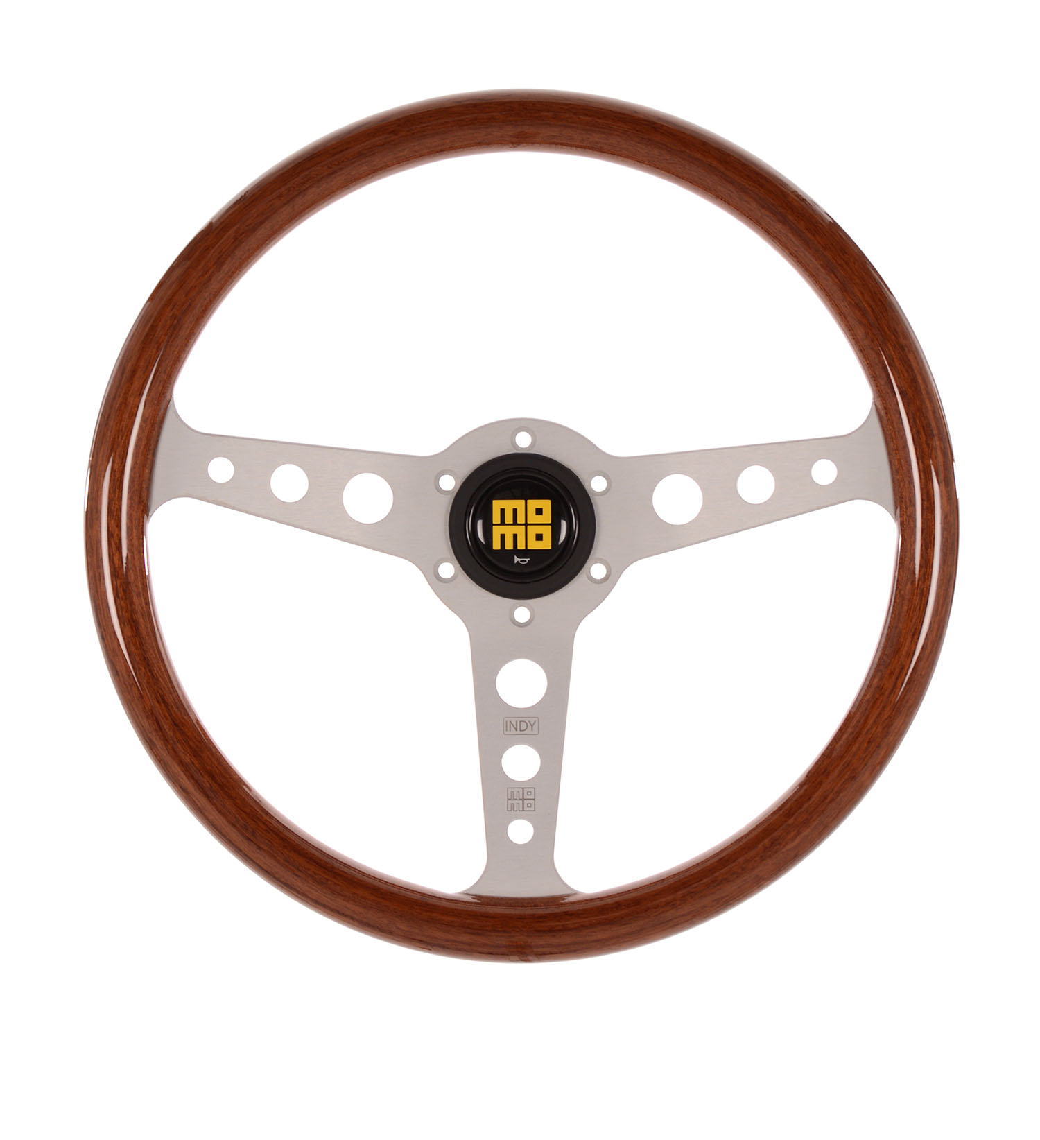 MOMO Steering Wheel Indy Hertiage Mahogany Wood