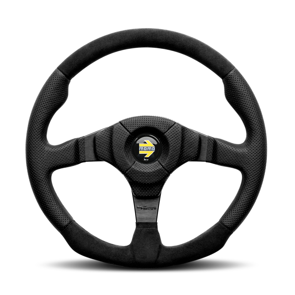 Momo Steering Wheel Dark Fighter
