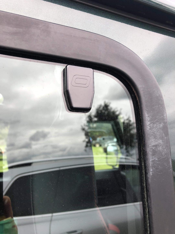 Landrover Defender Front Door Hinges 90 Set Of 4 In Black